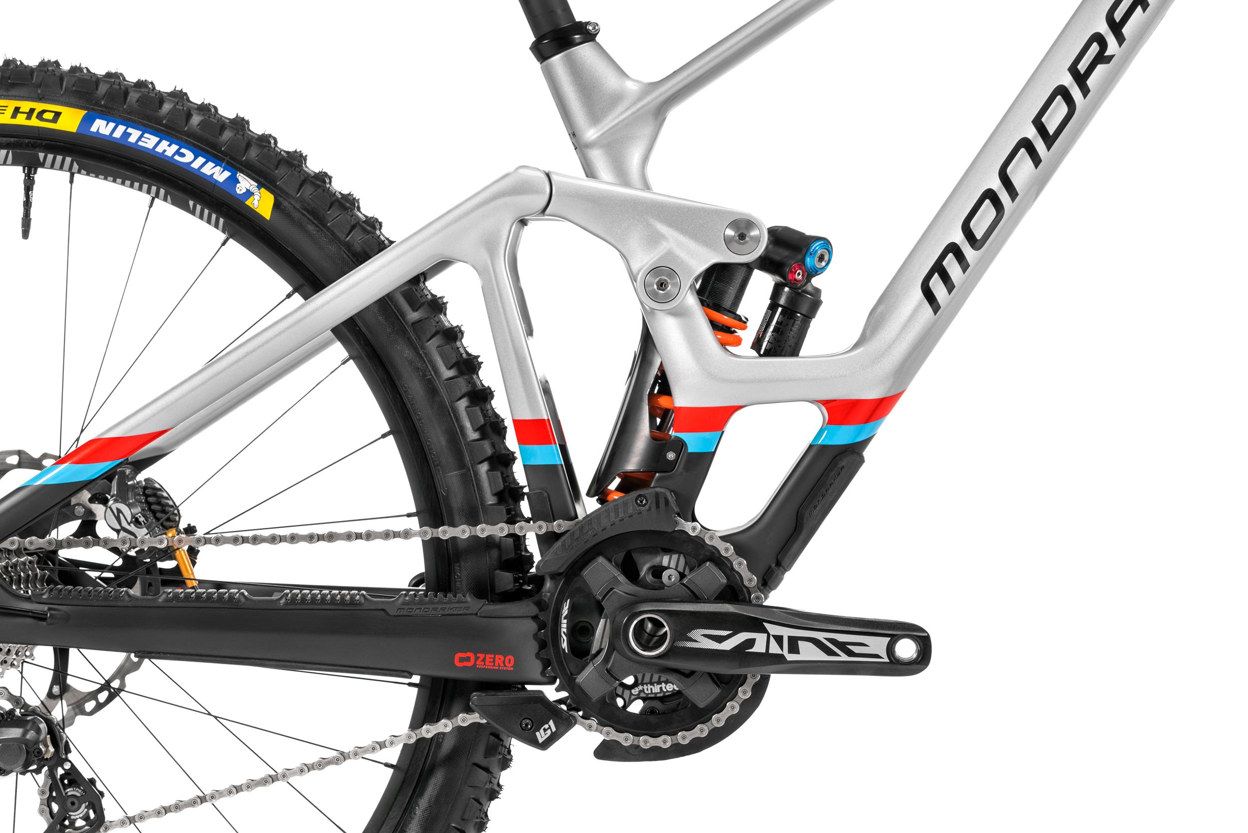 Brakes: Shimano Saint Shifting: Shimano Saint Crank & bottom bracket: Shimano Saint check out bike.shimano.com